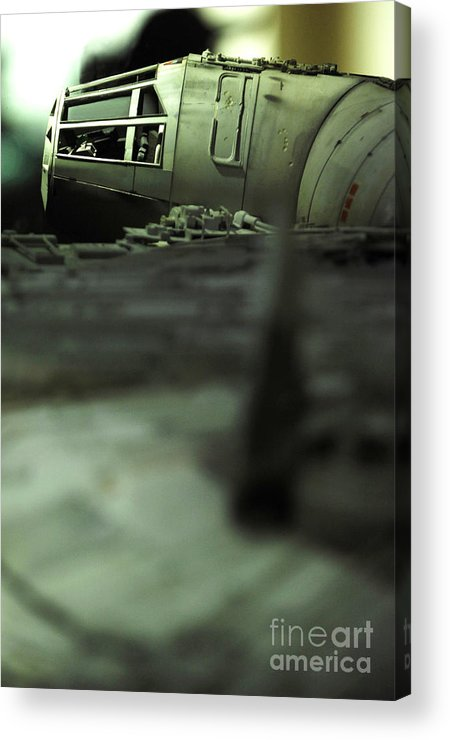 Fighter Acrylic Print featuring the photograph The Millennium Falcon by Micah May