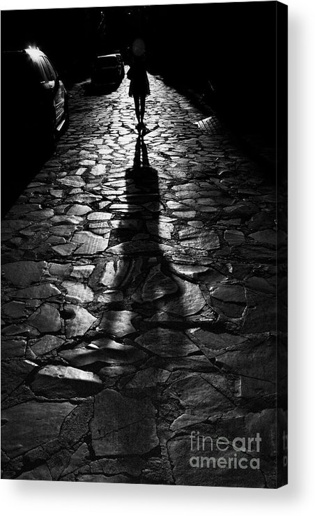 Shadow Acrylic Print featuring the photograph The Shadow by Nicola Fiscarelli
