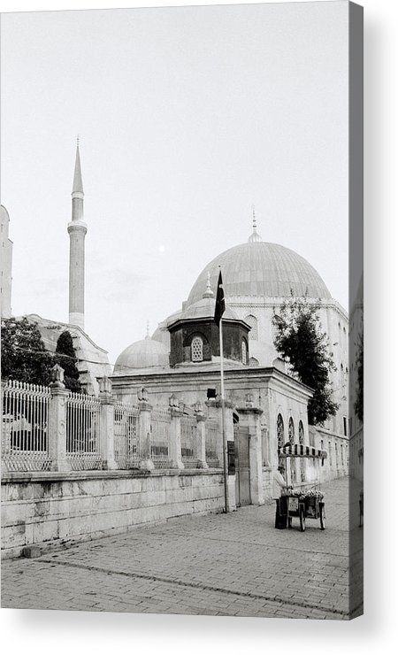 Hagia Sophia Acrylic Print featuring the photograph The Street by Shaun Higson