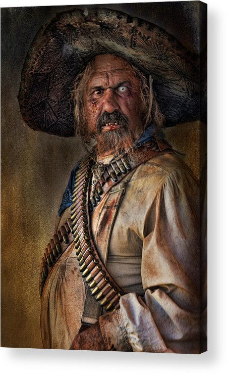 Man Acrylic Print featuring the photograph The Tombstone Bandito by Barbara Manis