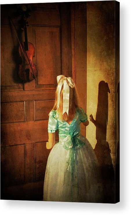 Violin Acrylic Print featuring the photograph The Violn by Harry Wentworth