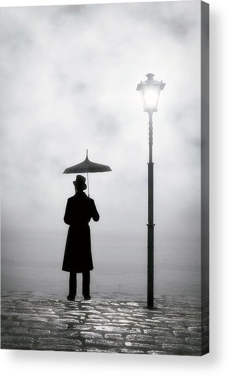 Man Acrylic Print featuring the photograph Victorian Man by Joana Kruse