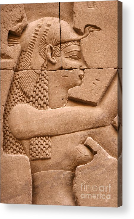 Relief Acrylic Print featuring the photograph Wadjet by Stephen & Donna O'Meara