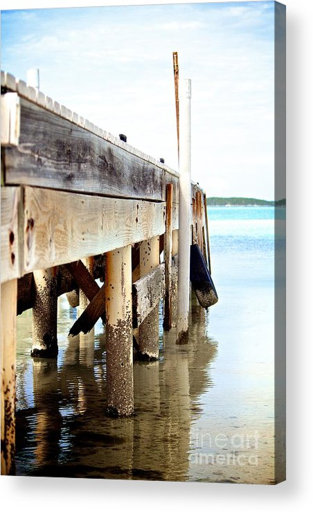 Vacation Acrylic Print featuring the photograph Weathered But Strong by Cheryl Hurtak