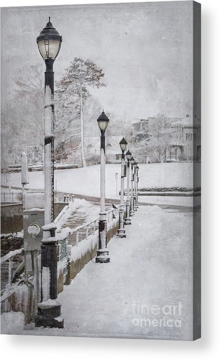 Bar Harbor Acrylic Print featuring the photograph You'll Never Walk Alone by Evelina Kremsdorf