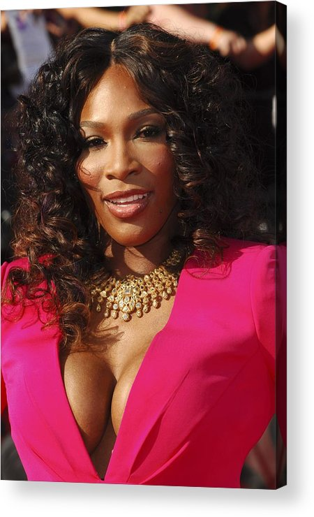 Serena Williams Acrylic Print featuring the photograph Serena Williams At Arrivals For The by Everett