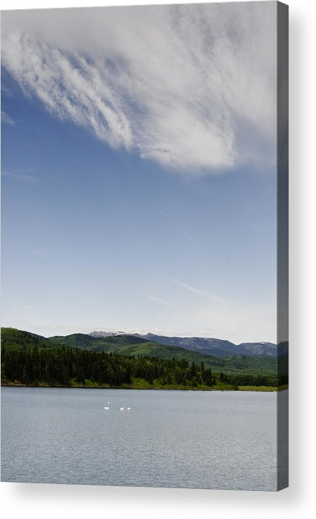 Chain Lakes Provincial Park Acrylic Print featuring the photograph Big Sky View by Roderick Bley