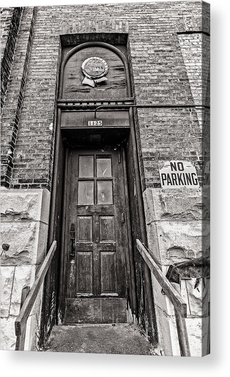 Cj Schmit Acrylic Print featuring the photograph 1125 Pabst by CJ Schmit