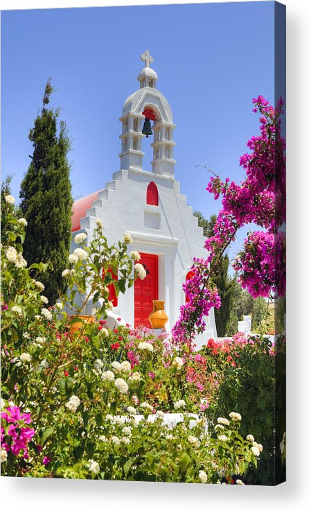 Mykonos Acrylic Print featuring the photograph Mykonos by Joana Kruse