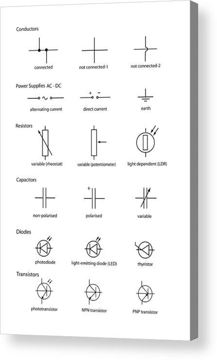 Light Emitting Diode Circuit Symbol Simple Circuit Notes