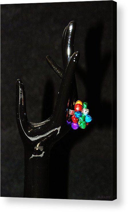 Hand Acrylic Print featuring the photograph The Black Hand by Rob Hans