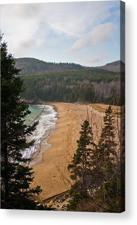 Beach Acrylic Print featuring the photograph A Beautiful Place by Greg DeBeck