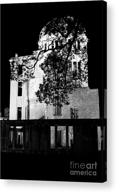 A-bomb Acrylic Print featuring the photograph A-bomb Dome by Dean Harte