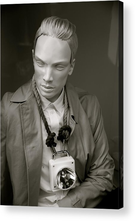 Jezcself Acrylic Print featuring the photograph A Minor Day by Jez C Self