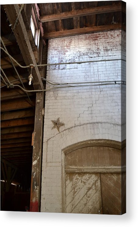 Architecture Acrylic Print featuring the photograph A Star Is Born by Tiffany Ball-Zerges