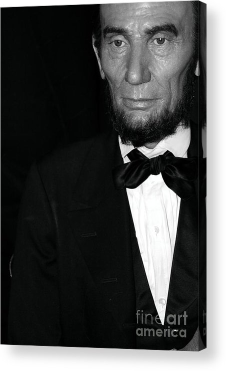Abraham Lincoln Acrylic Print featuring the photograph Abraham Lincoln by Sophie Vigneault