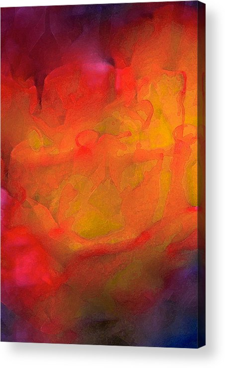 Abstract Acrylic Print featuring the photograph Abstract 279 by Pamela Cooper