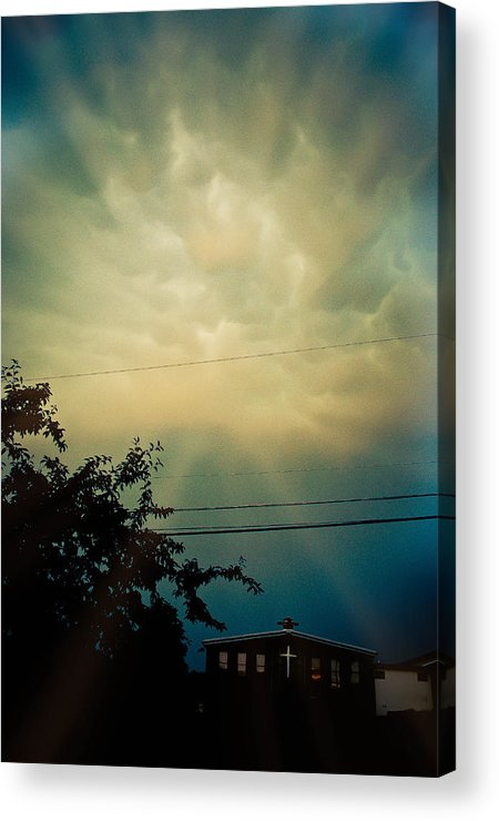 Cloud Acrylic Print featuring the photograph Amazing Trinity by Trish Tritz