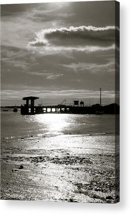 Jezcself Acrylic Print featuring the photograph Another Day Going by Jez C Self