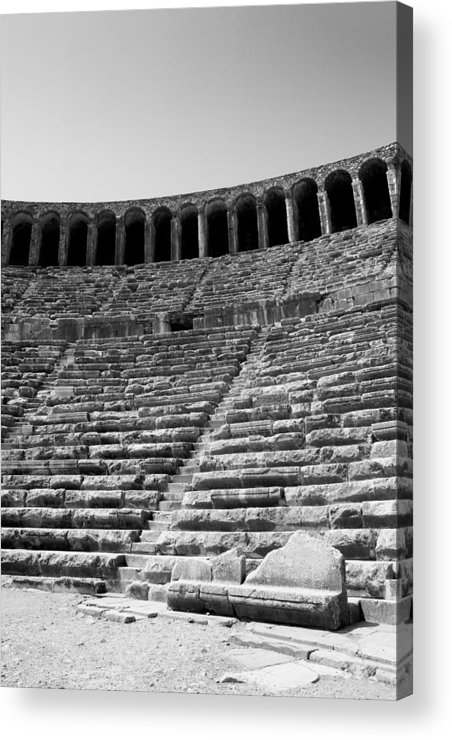 Antiquities Acrylic Print featuring the photograph Antiquities by Angela Siener
