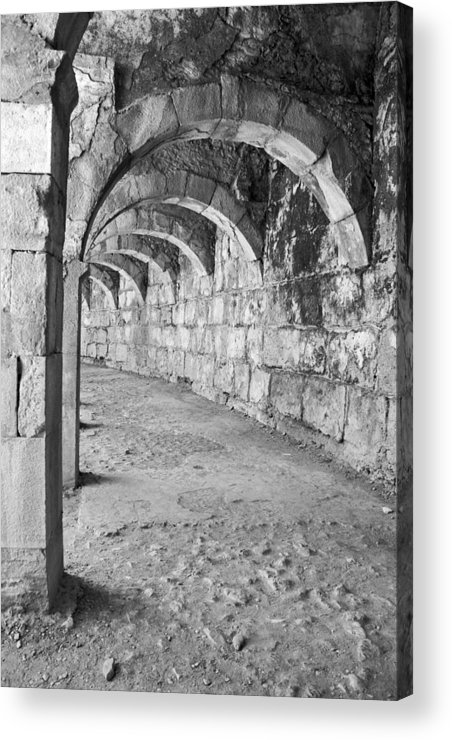 Photograph Acrylic Print featuring the photograph Archway by Angela Siener
