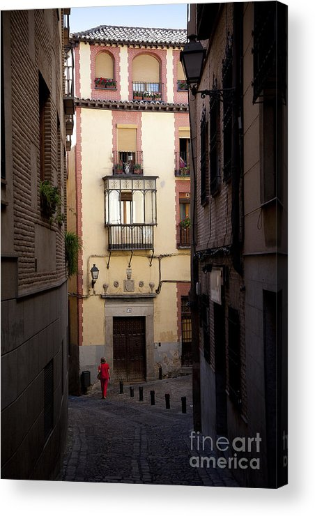 Toledo Acrylic Print featuring the photograph Around The Corner by RicharD Murphy