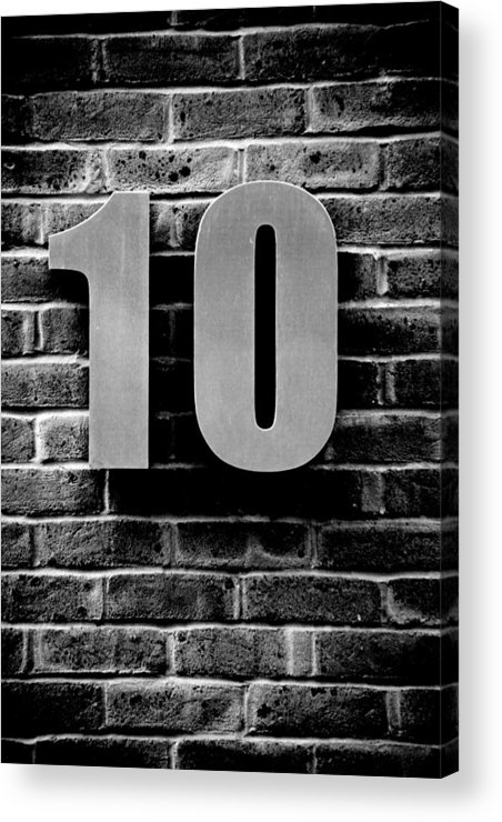 Jezcself Acrylic Print featuring the photograph At Number 10 by Jez C Self