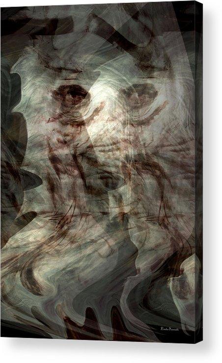 Awaken Your Mind Acrylic Print featuring the digital art Awaken Your Mind by Linda Sannuti
