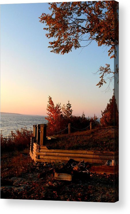 Beautiful Morning Acrylic Print featuring the photograph Beautiful Morning by Cyryn Fyrcyd