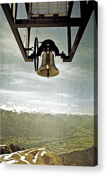 Bell Acrylic Print featuring the photograph Bell In Heaven by Joana Kruse
