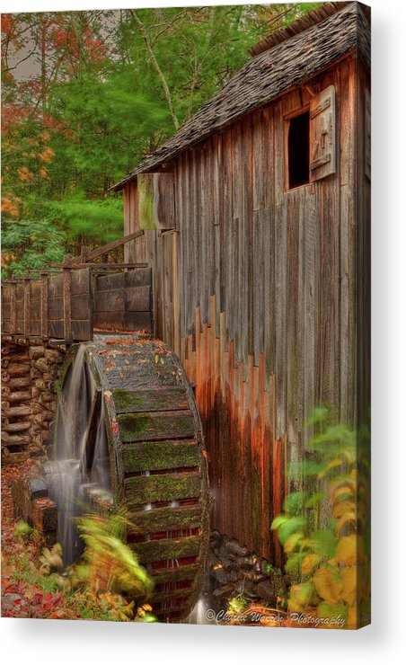 2010 Acrylic Print featuring the photograph Cable Mill II by Charles Warren