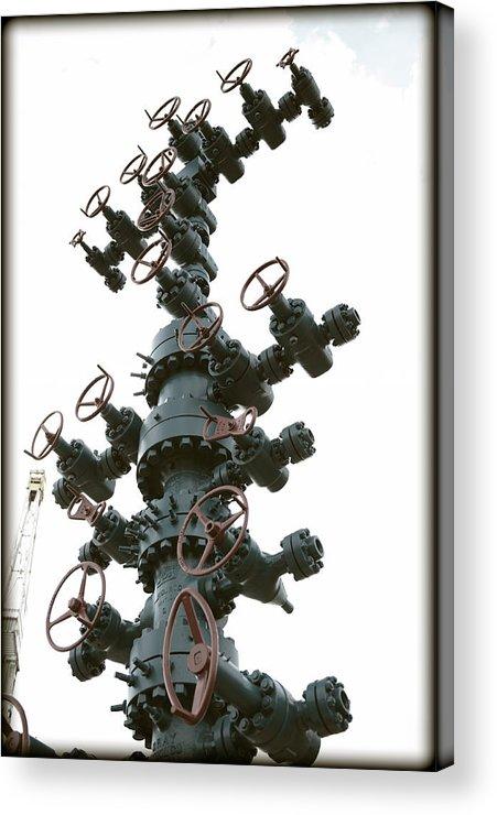 Christmas Acrylic Print featuring the photograph Christmas Tree by Ricky Barnard