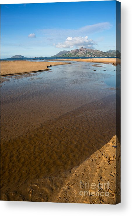 Coast Acrylic Print featuring the photograph Coastal View Ireland by Andrew Michael