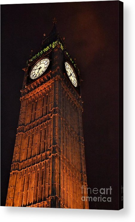 Photograph Acrylic Print featuring the photograph Counting Down To 12 by Helen Esdaile