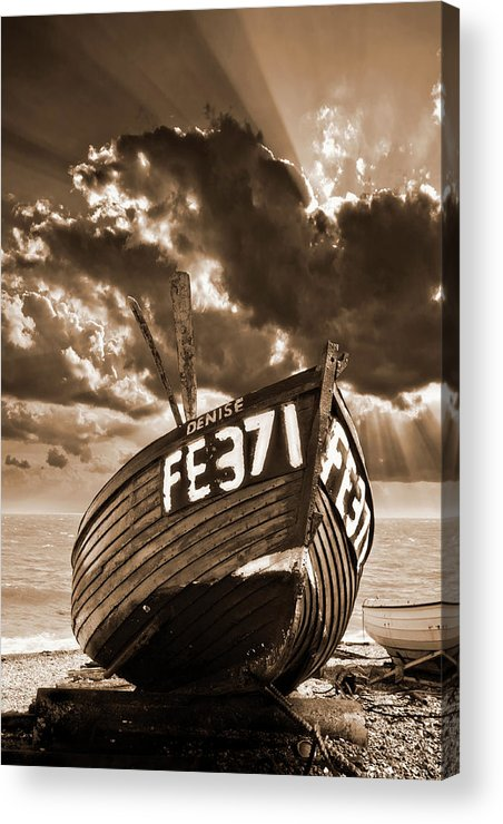 Boat Acrylic Print featuring the photograph Denise by Meirion Matthias