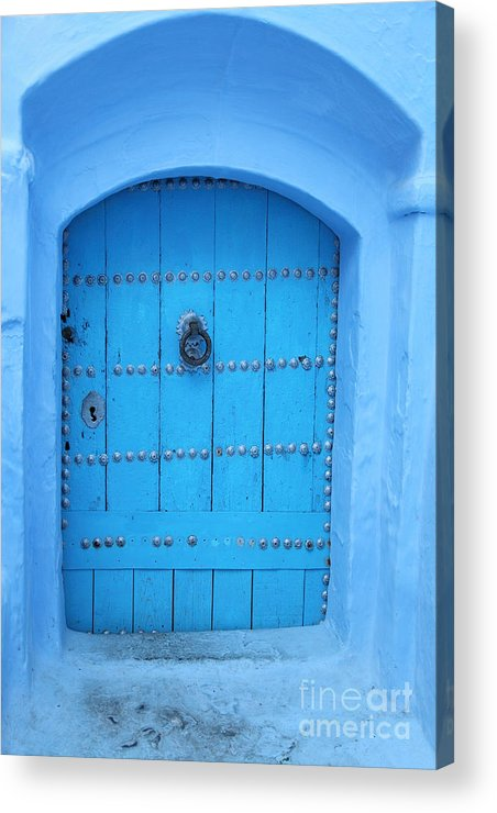 Morocco Acrylic Print featuring the photograph Door by Milena Boeva