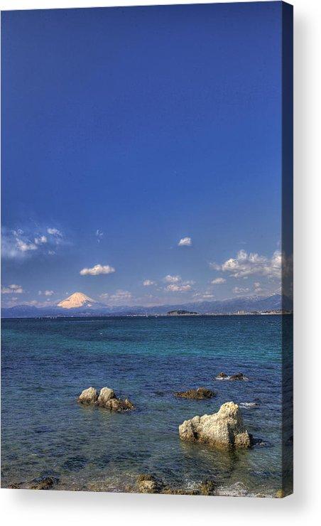 Landscape Acrylic Print featuring the photograph Ebb by Tad Kanazaki