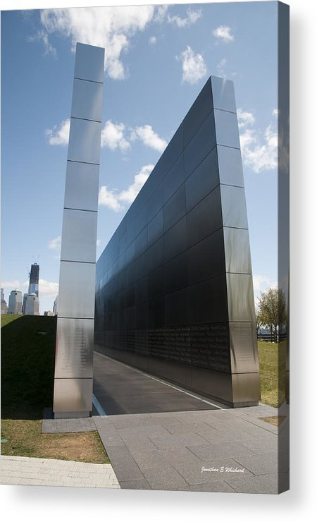 Empty Sky Memorial Acrylic Print featuring the photograph Empty Sky Memorial 1 by Jonathan Whichard