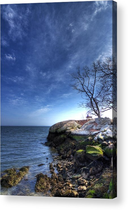 Hdr Acrylic Print featuring the photograph Enjoying The Afternoon by Tolga Cetin