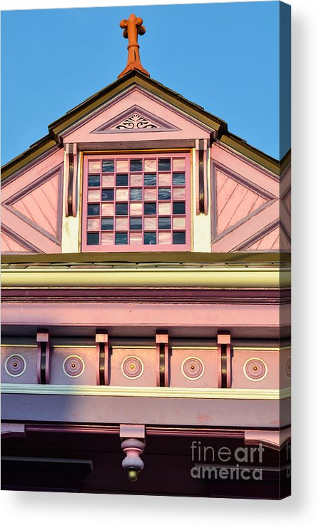 New Orleans Acrylic Print featuring the photograph Everything Pink by Jeanne Woods