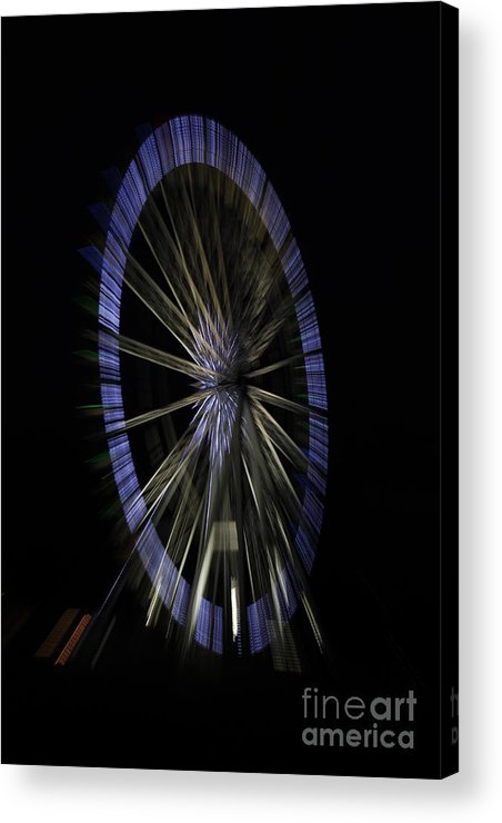 Christmas 2011 Acrylic Print featuring the photograph Ferris Wheel by Urban Shooters