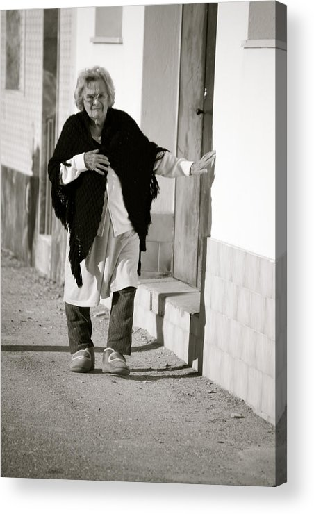 Jezcself Acrylic Print featuring the photograph Finding My Way by Jez C Self