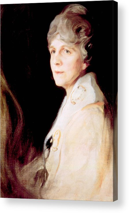 First Lady Acrylic Print featuring the photograph Florence Harding 1860-1924, First Lady by Everett