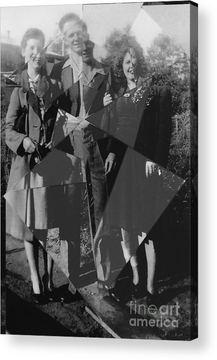 Family Acrylic Print featuring the photograph Fractured Family by Joanne Kocwin