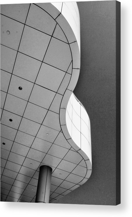 Getty Museum Acrylic Print featuring the photograph Getty 1 by Rosanne Nitti