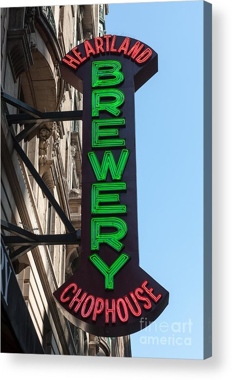 Clarence Holmes Acrylic Print featuring the photograph Heartland Brewery Chophouse by Clarence Holmes