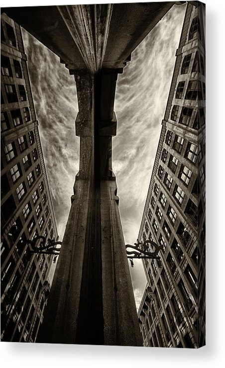Architecture Acrylic Print featuring the photograph Looking Into The Past... by Russell Styles