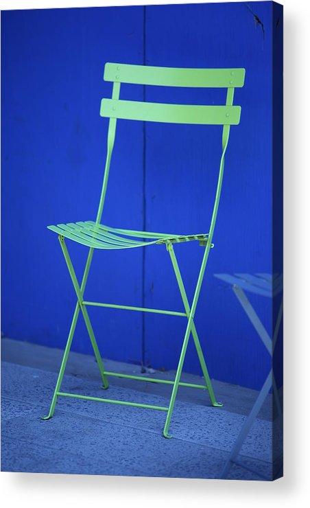 Chair Acrylic Print featuring the photograph Misc 0036 by Carol Ann Thomas