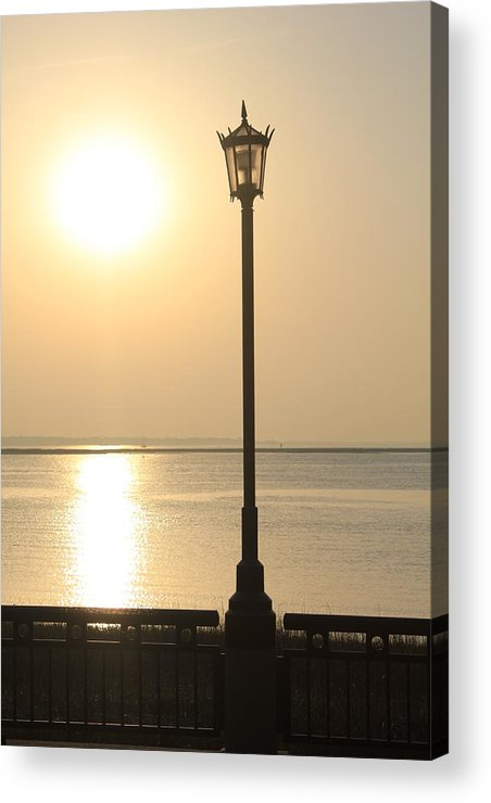 Lamp Acrylic Print featuring the photograph Morning Light by David White