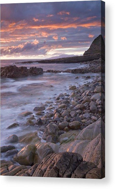 Sunset Acrylic Print featuring the photograph Mullaghmore Head, Co Sligo, Ireland by Gareth McCormack